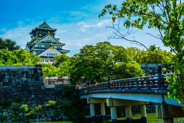 Get to know Osaka's historic side with this one-day itinerary! Osaka Castle-Tenjinbashisuji Shopping Street