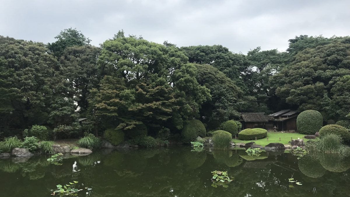 Visiting the Tokyo National Museum