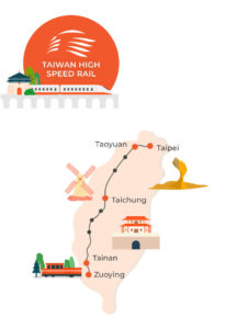 THSR STation Map - KLOOK: https://www.klook.com/activity/808-3-day-thsr-tourist-pass-taipei/