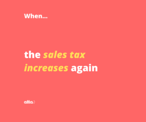 sales tax increases
